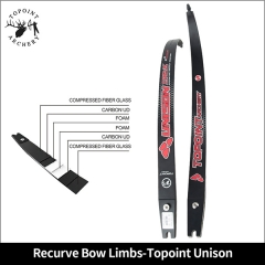 Recurve Bow Limbs-Topoint Unison